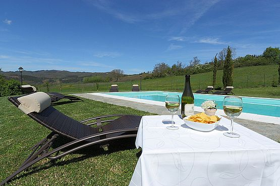 Bed and Breakfast Toscana con piscina